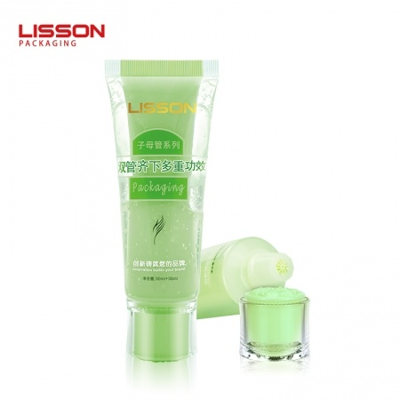 Dual Chamber Tube for Lotion