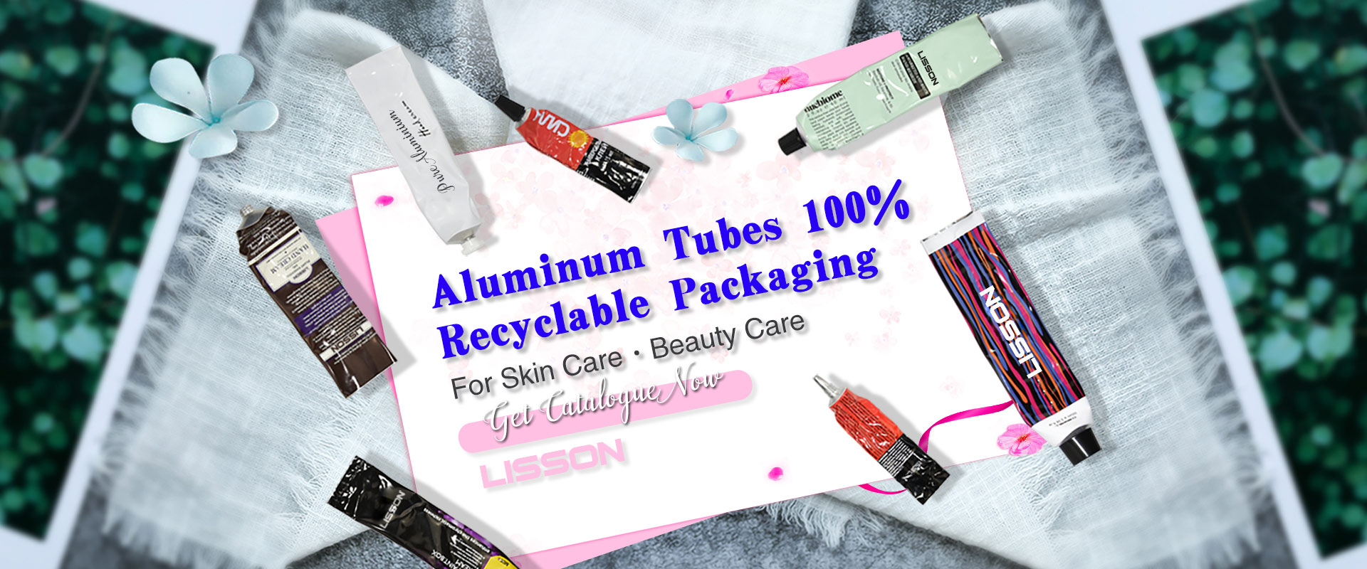 Aluminium Collasiple Tube Packaging