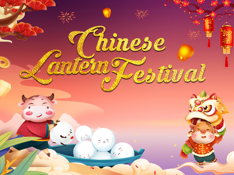 feliz linterna china Festival --- Lisson embalaje